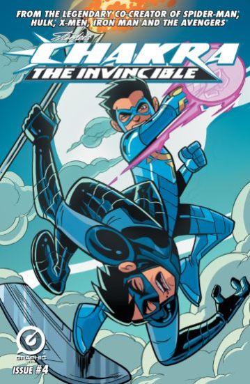 Chakra the Invincible No. 4
