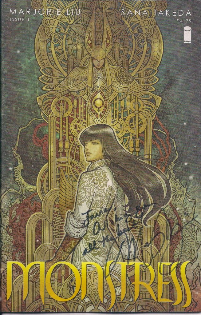 Monstress Signed