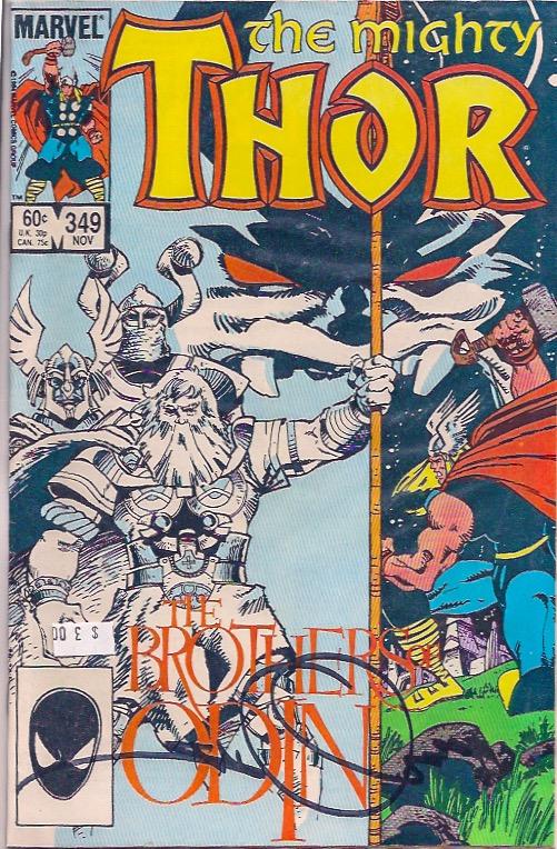 Thor 349 Signed